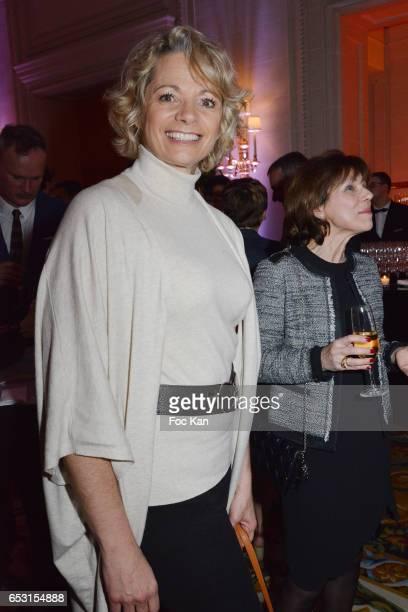 Muriel Hermine attends 'La Recherche en Physiologie' Charity Gala at Four Seasons Hotel George V on March 13 2017 in Paris France