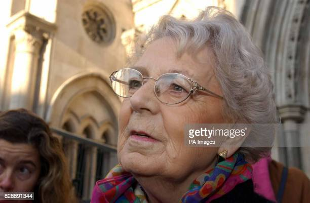 Muriel Jakubait Ruth Ellis's sister leaves the Royal Courts of Justice disappointed after losing the appeal hearing for her sister Ruth Ellis the...