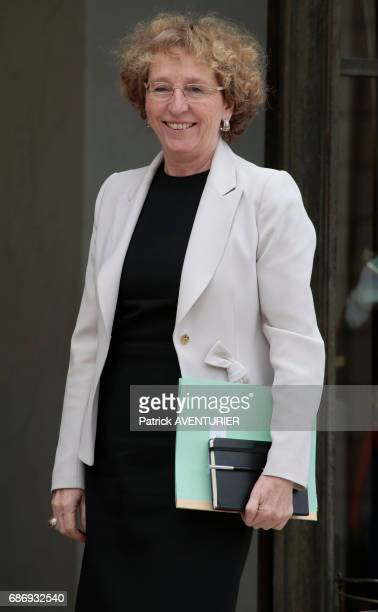 Muriel Pénicaud France's minister of labour arrives for a cabinet meeting at the Elysée Palace in Paris France on May 18 2017