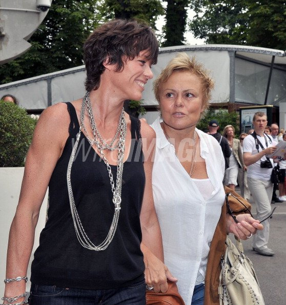 Muriel robin and anne le nen attend the french open at roland garros wireimage 115277990 - French intellectual property office ...