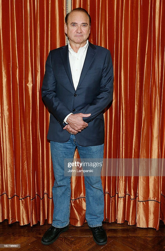Murphy Guyer attends the 'Breakfast At Tiffany's' Press Preview at Cafe Carlyle on February 27, 2013 in New York City.