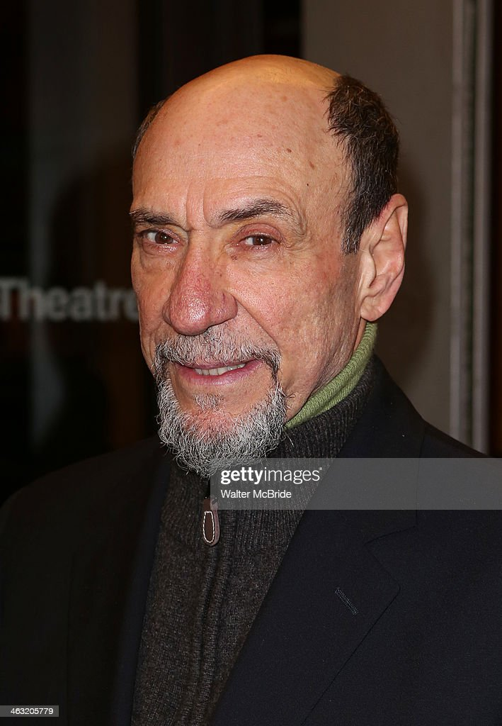 <a gi-track='captionPersonalityLinkClicked' href=/galleries/search?phrase=F.+Murray+Abraham&family=editorial&specificpeople=221681 ng-click='$event.stopPropagation()'>F. Murray Abraham</a> attends the Broadway opening night of 'Machinal' at American Airlines Theatre on January 16, 2014 in New York, New York.
