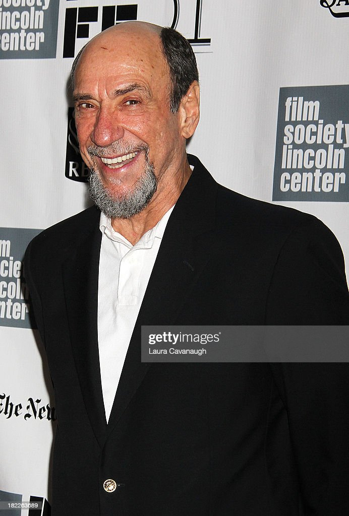 <a gi-track='captionPersonalityLinkClicked' href=/galleries/search?phrase=F.+Murray+Abraham&family=editorial&specificpeople=221681 ng-click='$event.stopPropagation()'>F. Murray Abraham</a> attends the 'Inside Lleywn Davis' permiere during the 51st New York Film Festival at Alice Tully Hall at Lincoln Center on September 28, 2013 in New York City.