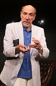 Murray Abraham is the latest actor to perform in the new play 'White Rabbit Red Rabbit' at The Westside Theatre on July 18 2016 in New York City