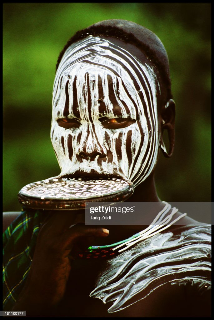 CONTENT] Mursi Girl With Lip Plate Ethiopia