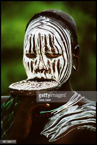 CONTENT] Mursi Girl With Lip Plate Ethiopia