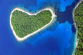 Murtar Island, 3000 feet altitude-Mediterranean Sea-Croatia