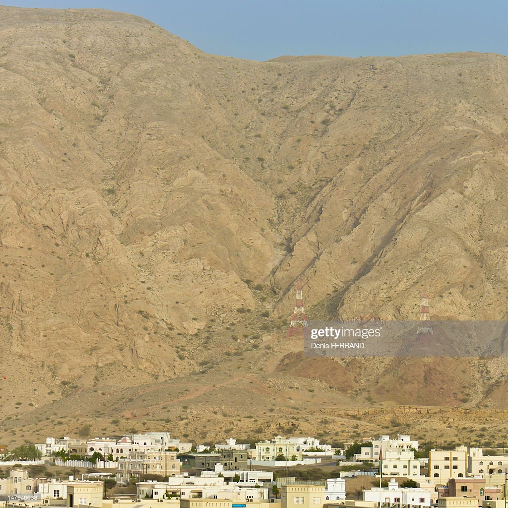 Muscat hills in Oman : Stock Photo