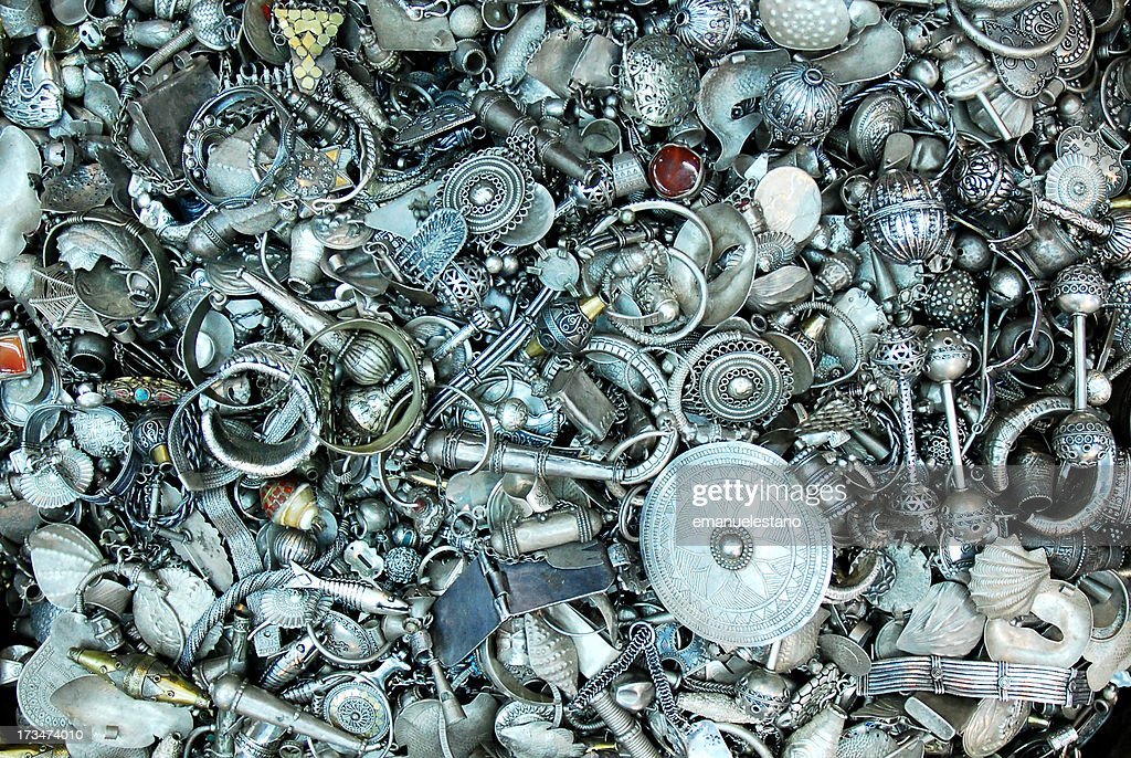 Muscat, Mutrah Souq : Stock Photo