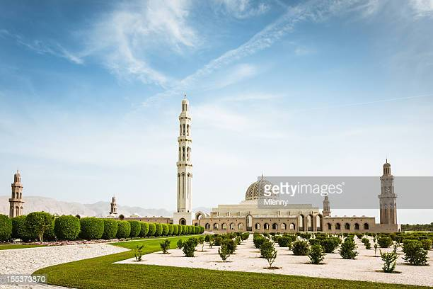 Muscat Sultan Qaboos Grand Mosque Oman