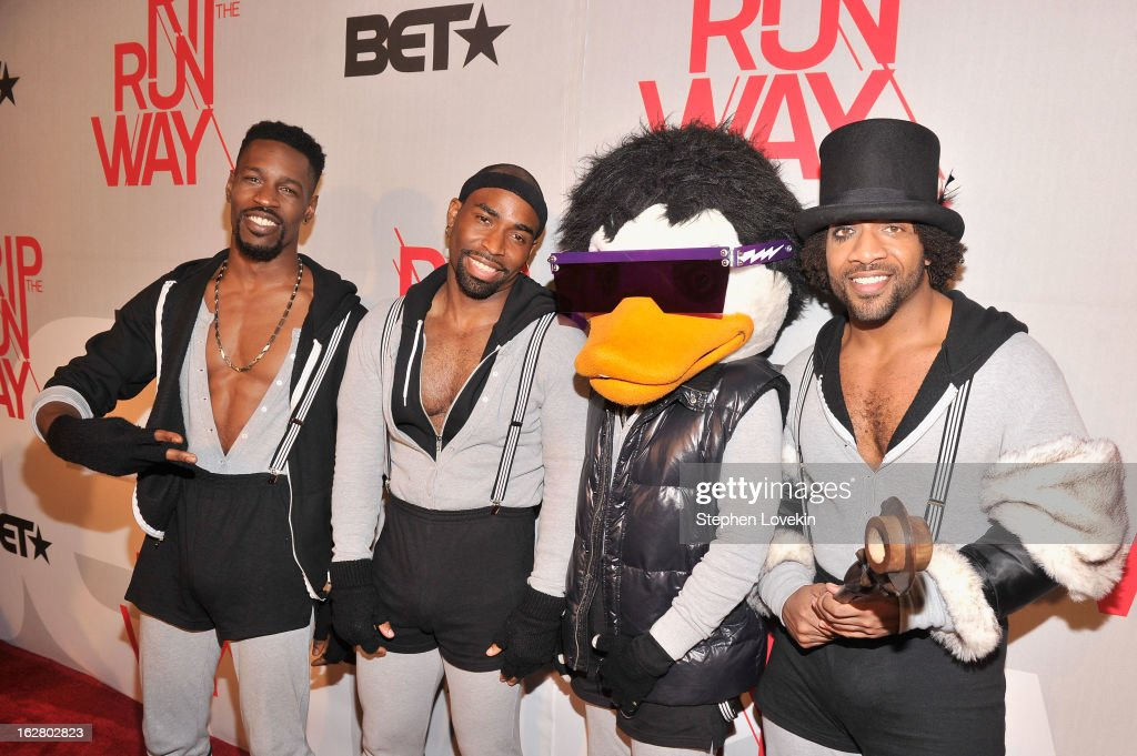 Muscial group Watch The Duck attend BET's Rip The Runway 2013:Red Carpet at Hammerstein Ballroom on February 27, 2013 in New York City.