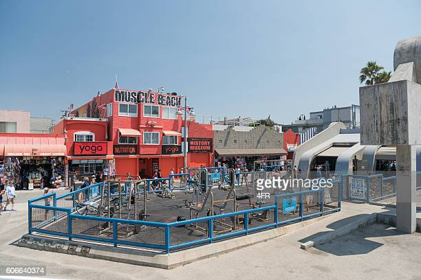 Muscle Beach, Santa Monica, Los Angeles, California