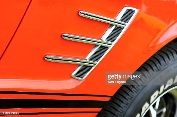 Muscle car wing.