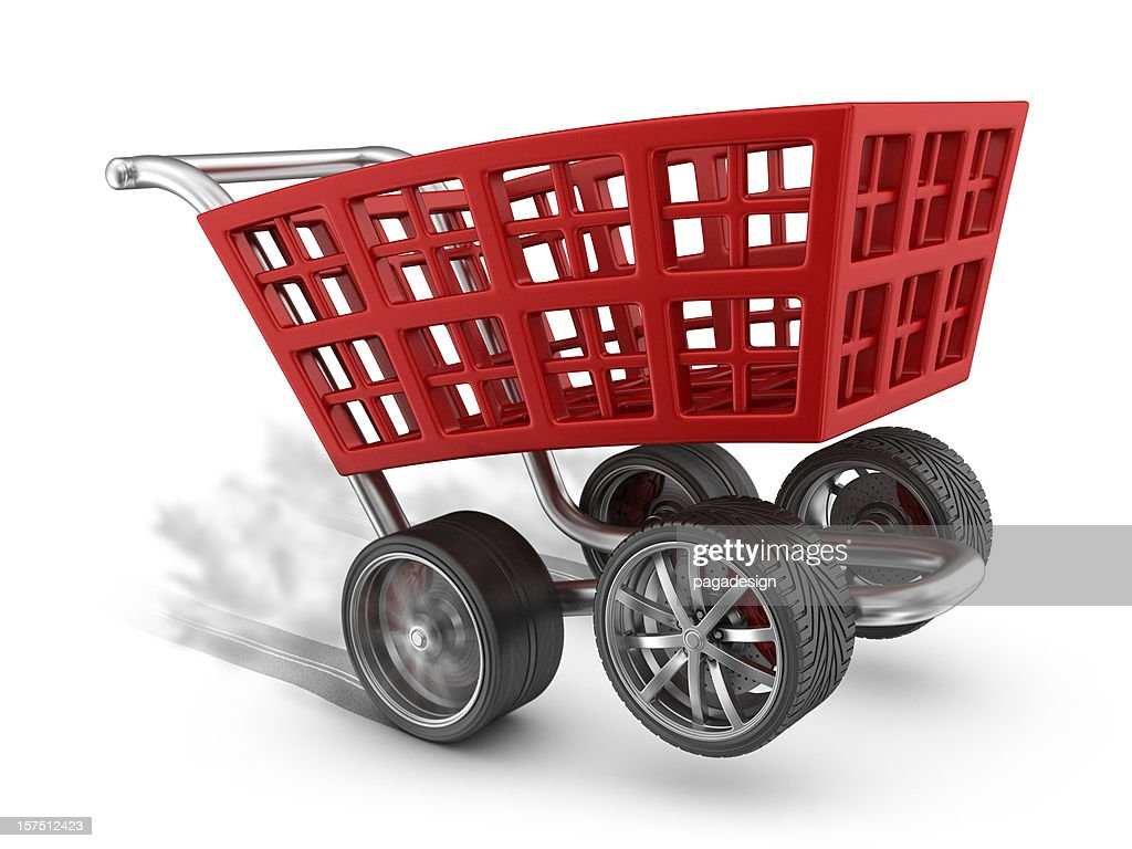 muscle cart : Stock Photo