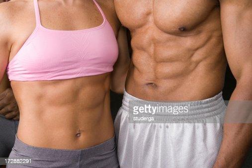 筋肉の Abs