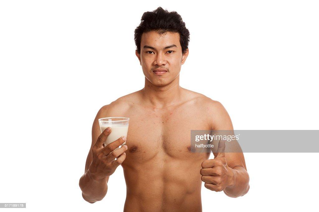 Asian milks thumbs