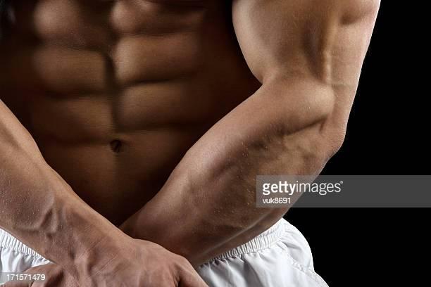 Macho Muscular do corpo
