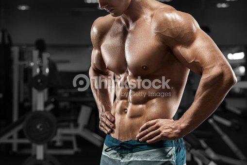 Nackt im fitnisstudio