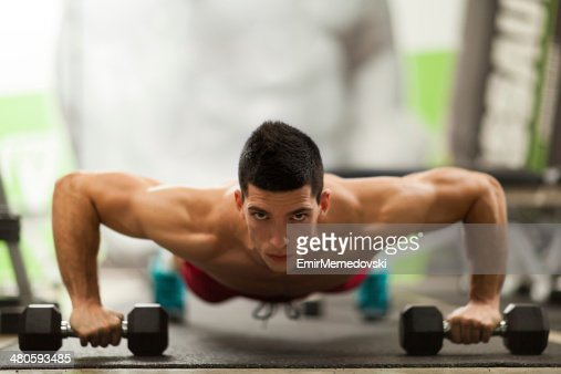 Muscular man : Stock Photo