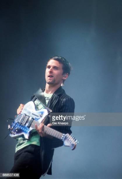 Muse Matthew Bellamy Rock Werchter Festival Werchter Belgium