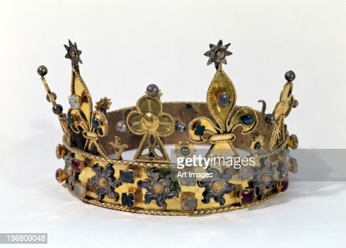 Funerary crown of Philippe of France (1342-1404) 1404 (gold, pearls & precious stones)