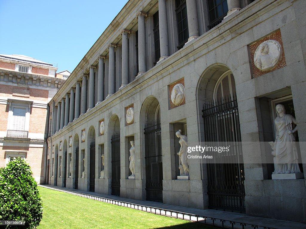 Museo Nacional del Prado Prado Museum Facade of the museum in the Paseo del Prado Prado museum was designed o in 1785 by the architect Juan de...