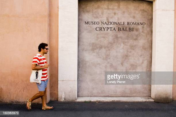 Museo Nazionale Romano, Trevi and Quirinale area.