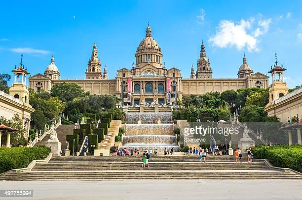 Museo Nacional de Arte de Catalunya en Barcelona, España