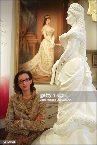 Museum Is Devoted To Empress Sissi In Hofburg Palace On May 1 2004 In Vienna Austria Sissi Museum Curator Katrin Unterreiner In The Background The...