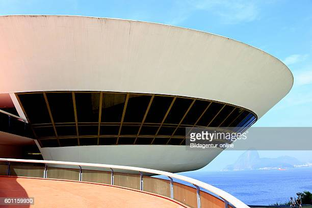 Museum Museu de Arte Contemporanea de Niteroi museum of modern art Rio de Janeiro Brazil