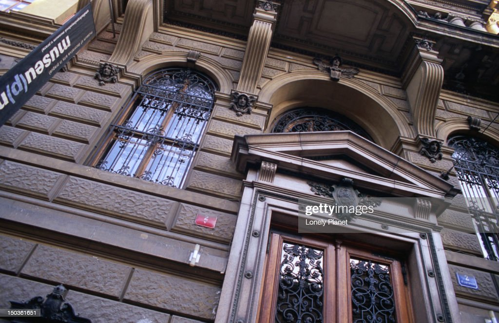 museum of decorative arts facade stock photo getty images