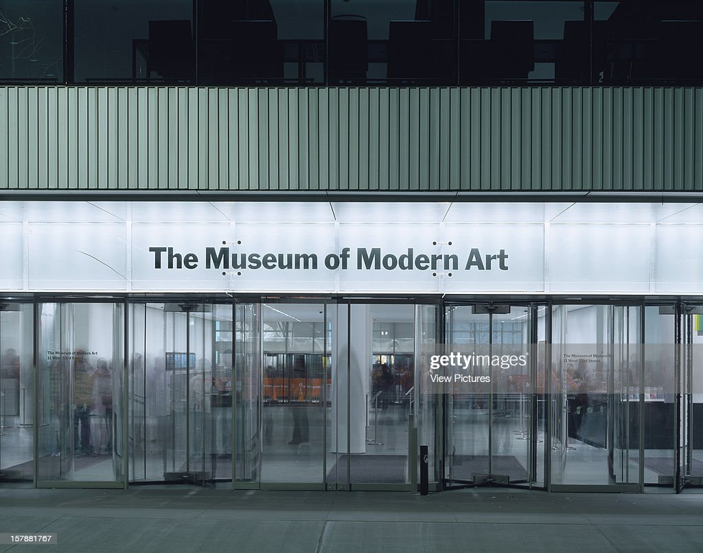 Museum Modern Art York United States Architect Yoshio Picture  Entertainment Getty Images