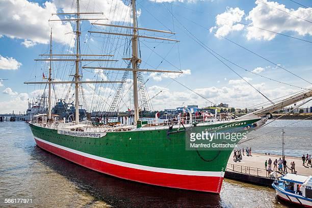 Museum ship Rickmer Rickmers Hamburg