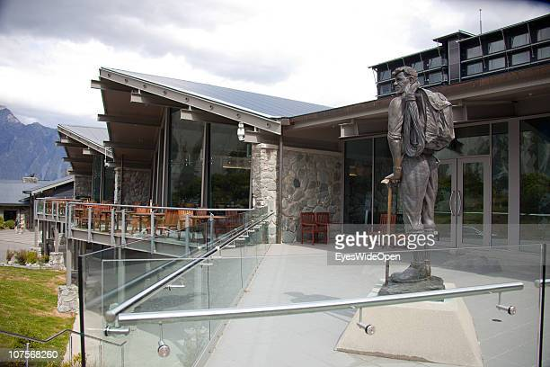 Museum Sir Edmund Hillary Alpine Centre at the Hermitage Hotel on December 12 2010 in Aoraki / Mount Cook National Park South Island New Zealand Mt...