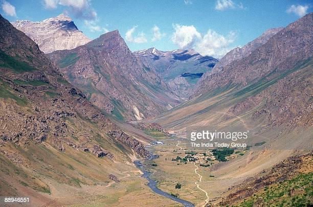 Mushkan Sector and Tiger Hill at Kargil Jammu Kashmir