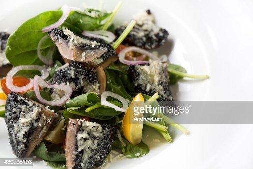 Mushroom Dish : Stock Photo