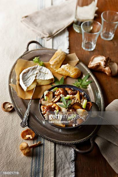 Mushroom Soup with Marijuana