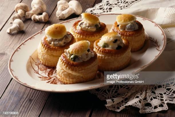 Mushroom Vol au vents