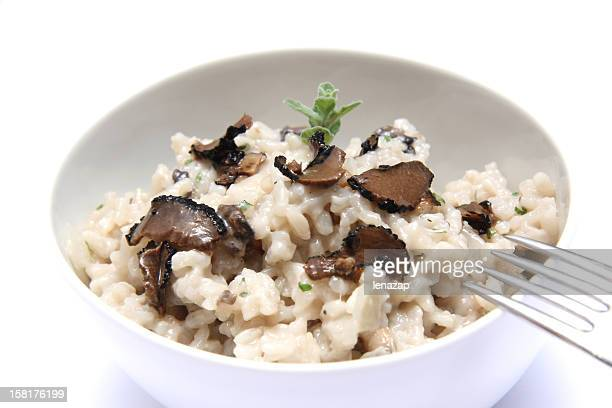 Trüffel-risotto mit Pilzen