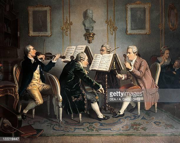 Music 18th century String quartet