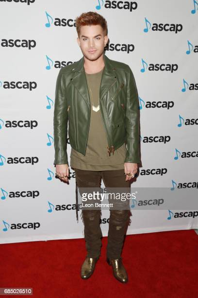 Music artist Adam Lambert attended the 34th Annual ASCAP Pop Music Awards at The Wiltern on May 18 2017 in Los Angeles United States
