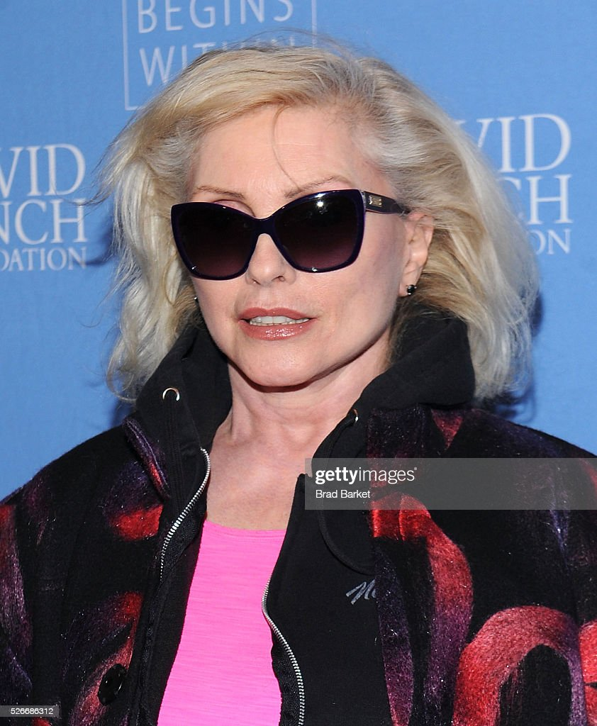 Music artist <a gi-track='captionPersonalityLinkClicked' href=/galleries/search?phrase=Debbie+Harry&family=editorial&specificpeople=209145 ng-click='$event.stopPropagation()'>Debbie Harry</a> attends An Amazing Night Of Comedy: A David Lynch Foundation Benefit For Veterans With PTSD at New York City Center on April 30, 2016 in New York City.