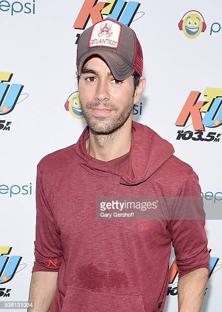 Music artist Enrique Iglesias attends 1035 KTU's KTUphoria 2016 presented by Aruba at Nikon at Jones Beach Theater on June 4 2016 in Wantagh NY