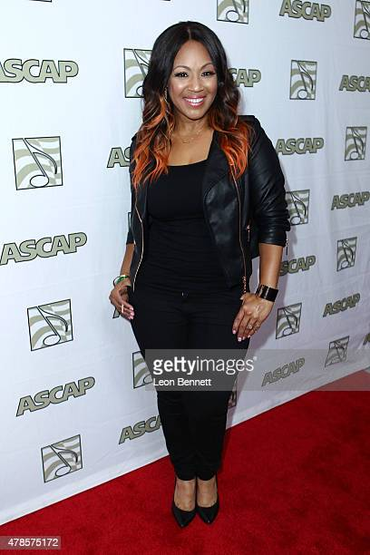 Music artist Erica Campbell of Mary Mary arrived at the 28th Annual ASCAP Rhythm And Soul Music Awards Arrivals at the Beverly Wilshire Four Seasons...