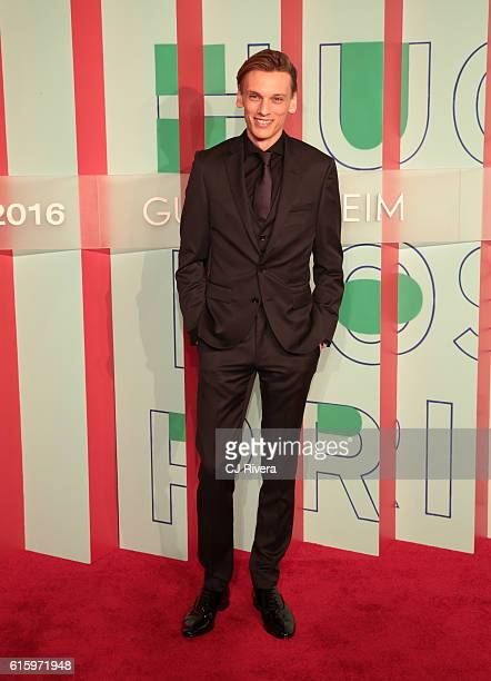 Music artist Jamie Campbell attends the Hugo Boss Prize 2016 at Solomon R Guggenheim Museum on October 20 2016 in New York City