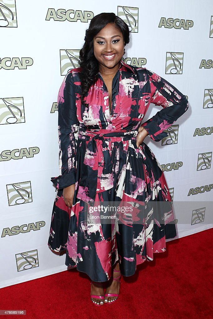 Music artist Jazmine Sullivan arrived at the 28th Annual ASCAP Rhythm And Soul Music Awards - Arrivals at the Beverly Wilshire Four Seasons Hotel on June 25, 2015 in Beverly Hills, California.
