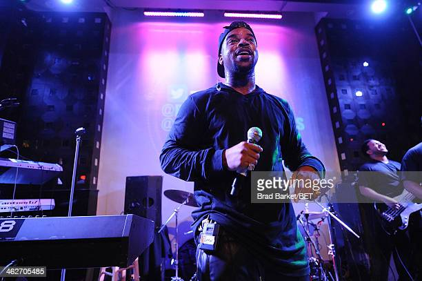 Music artist JDrew performs at SOB's on January 14 2014 in New York City