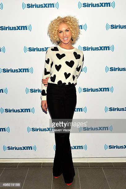 Music artist Kimberly Schlapman visits SiriusXM Studios on November 23 2015 in New York City