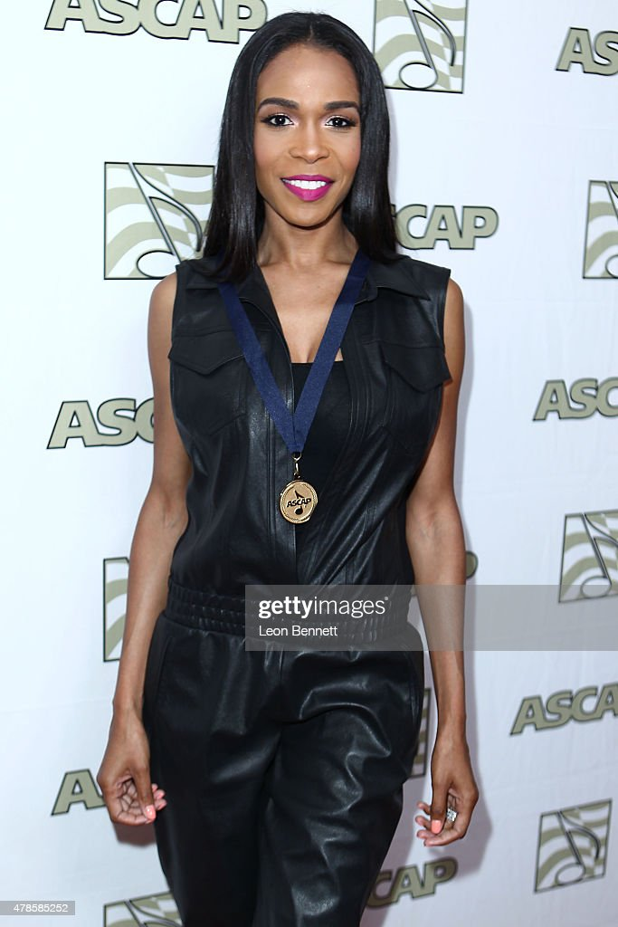 Music artist Michelle Williams arrived at the 28th Annual ASCAP Rhythm And Soul Music Awards - Arrivals at the Beverly Wilshire Four Seasons Hotel on June 25, 2015 in Beverly Hills, California.