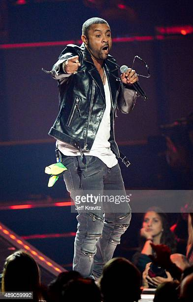 Music artist Shaggy performs onstage at the iHeartRadio Music Festival Night 1 on September 18 2015 in Las Vegas Nevada